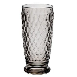 Villeroy & Boch Boston Smoke Crystal Highball Glasses, Set of 4