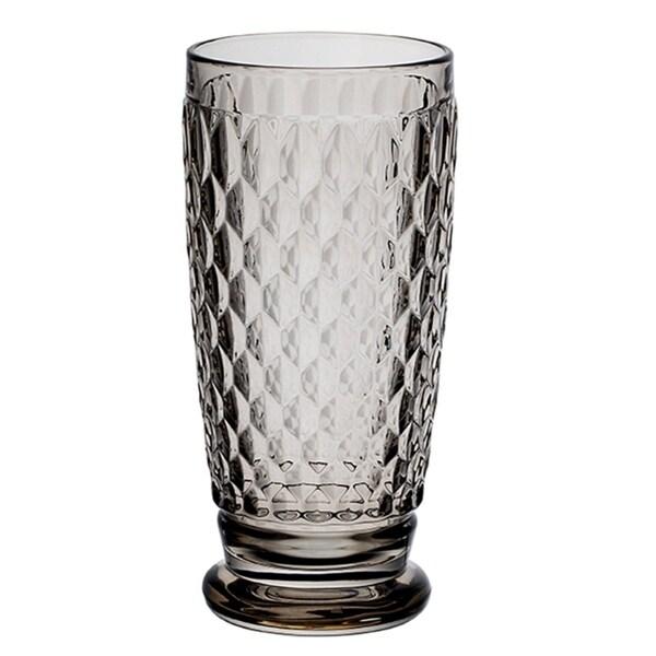 Shop Villeroy Boch Boston Smoke Crystal Highball Glasses Set Of 4