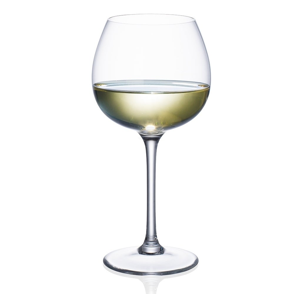 Villeroy & Boch Purismo Soft Rounded White Wine Glass, Se...