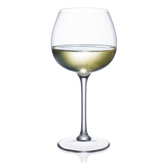 Villeroy & BochPurismo Soft Rounded White Wine Glass, Set of 4