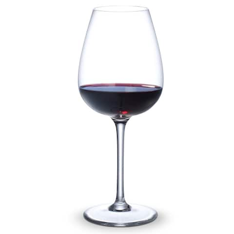 Purismo 19.25 oz. Intricate and Delicate Red Wine Glasses, Set of 4