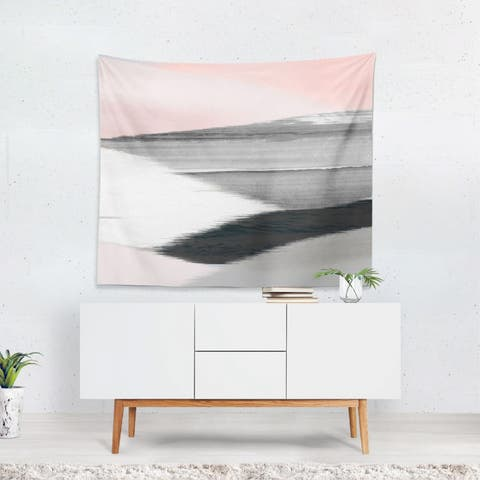 Oliver Gal 'I Love You That Simple' Wall Tapestry