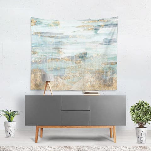 Oliver Gal 'Love in Teal' WallTapestry