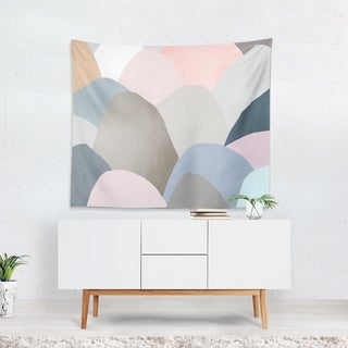 Oliver Gal 'Minimal Mountains' WallTapestry