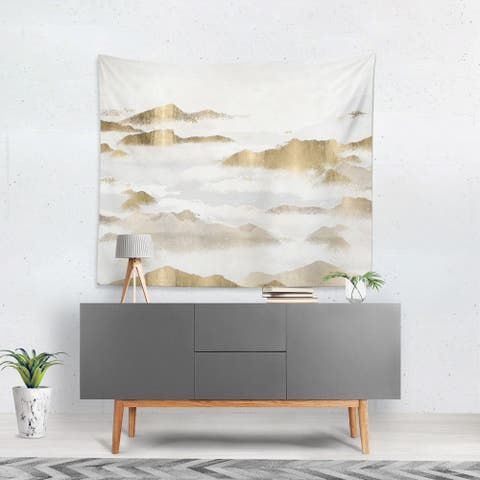 Oliver Gal 'Mountain of the Soul' WallTapestry
