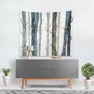 Oliver Gal 'Behind the Woods' WallTapestry
