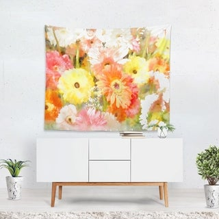 Oliver Gal 'Orange Yellow Red' WallTapestry