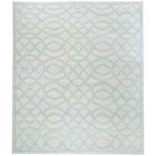 Wool Tabriz Rug (9'9'' x 11'9'') - 8' x 8'