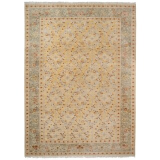 Wool and Silk Zeigler Rug - 9'9'' x 13'10''