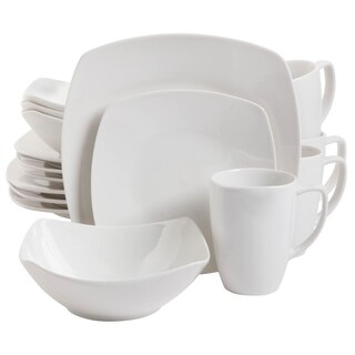Zen Buffetware 16 piece Square Dinnerware Set  sc 1 st  Overstock & Dinnerware | Find Great Kitchen u0026 Dining Deals Shopping at Overstock.com