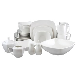 Gibson Zen Buffetware 39 Piece Dinnerware Set