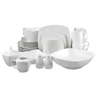 Gibson Zen Buffetware 39 Piece Dinnerware Set