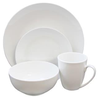 Gibson Home Ogalla 16 Piece Dinnerware Set in White
