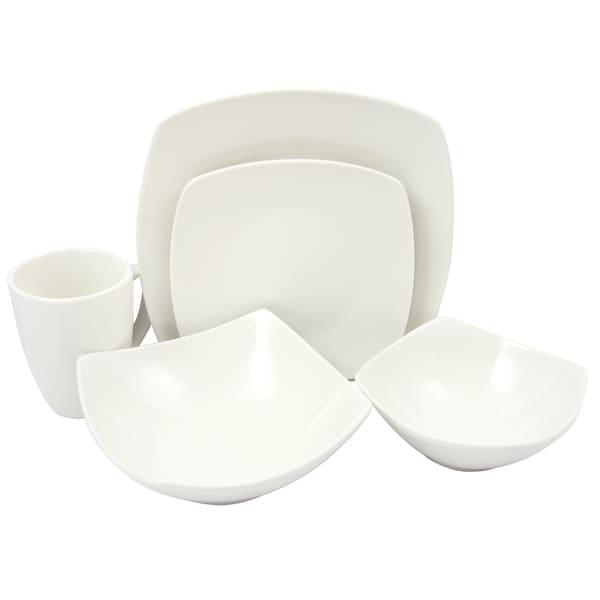 Zen Buffetware 30 pc Dinnerware Set  sc 1 st  Overstock.com & Zen Buffetware 30 pc Dinnerware Set - Free Shipping Today ...