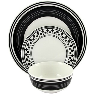 Gibson Home Classic Melody 12piece Dinnerware Set