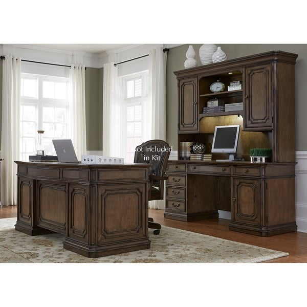 Amelia Antique Toffee 5-piece Jr. Executive Set
