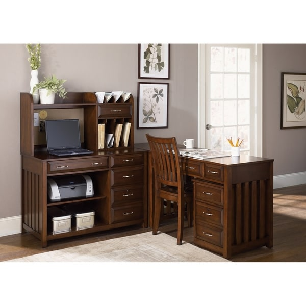 Hampton Bay Cherry Mobile File Cabinet
