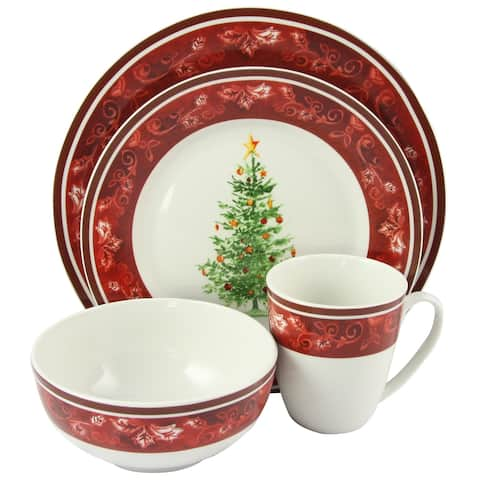 Noel Nostalgia 16 pc Dinnerware Set