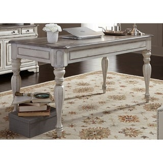 Magnolia Manor Antique White Writing Desk
