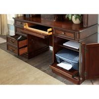 Brayton Manor Cognac 3-piece Jr. Executive Credenza