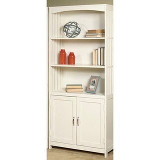 Hampton Bay White Door Bookcase