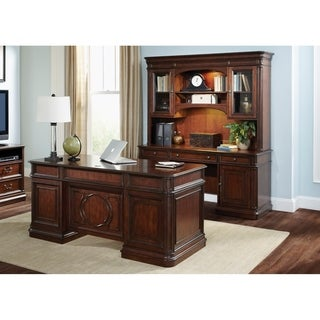 Exceptionnel Brayton Manor Cognac 5 Piece Jr. Executive Set