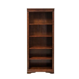 Brookview Rustic Cherry Open Bookcase