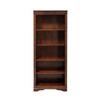 Brookview Rustic Cherry Open Bookcase