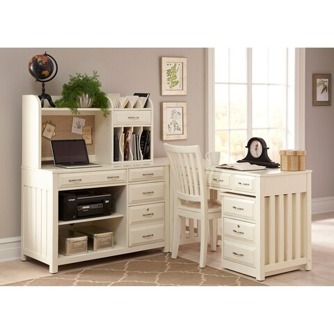 Hampton Bay White Mobile File Cabinet