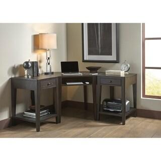 Autumn Oaks II Black 3-piece Desk