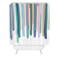 Mareike Boehmer Pastel Stripes 2 Shower Curtain