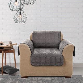 Sure Fit Deluxe Comfort Chair Slipcover (As Is Item)