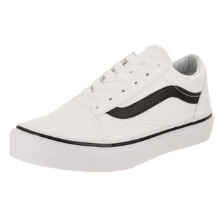 kids white vans shoes