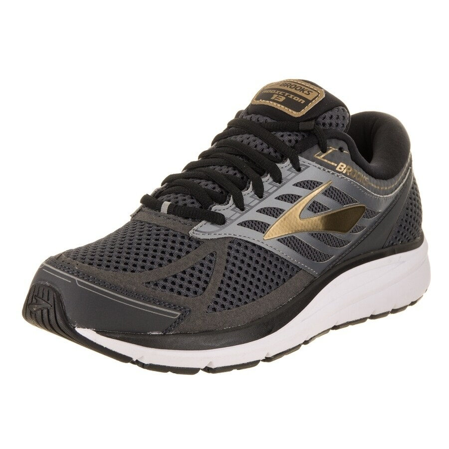 BROOKS Men's Addiction 13 Running Shoe (10.5), Black (Syn...