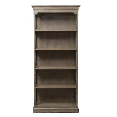 Copper Grove Sapareva Heathered Taupe Bookcase