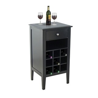 Wood Wine Storage Table