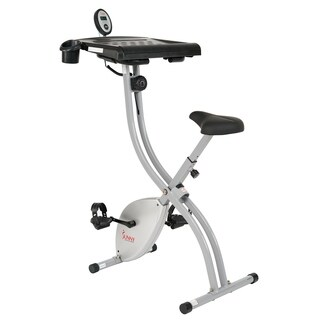 sunny health u0026 fitness exercise desk bike magnetic resistance