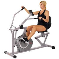 Sunny Health & Fitness Cross Training Magnetic Recumbent Bike
