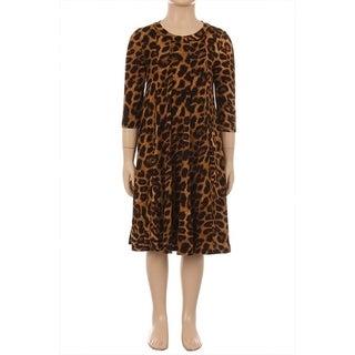 Children's Leopard Print Dress