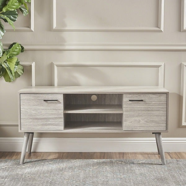 amarah mid century modern wood tv stand by christopher knight home free shipping today