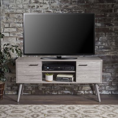 Amarah Mid Century Modern Wood TV Stand by Christopher Knight Home