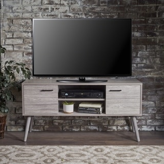 Link to Amarah Mid Century Modern Wood TV Stand by Christopher Knight Home Similar Items in TV Stands & Entertainment Centers