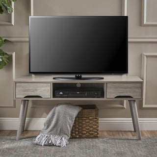 Link to Frieda Mid Century Modern Wood TV Stand with Drawers by Christopher Knight Home Similar Items in Entertainment Units