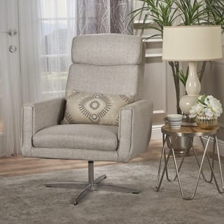 swivel accent chairs for living room. Horatia Modern Fabric Swivel Accent Chair by Christopher Knight Home Living Room Chairs For Less  Overstock com