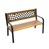 """Outsunny 47"""" Modern Outdoor Patio Garden Bench"""