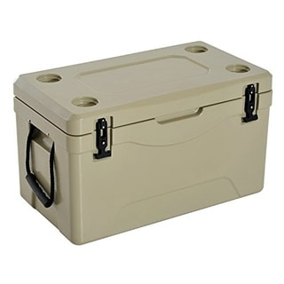 Outsunny 64 Quart Heavy Duty Roto-Molded Cooler / Ice Box