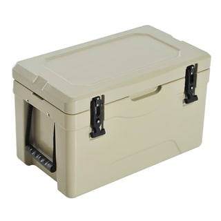 Outsunny 32 Quart Heavy Duty Roto-Molded Cooler / Ice Box