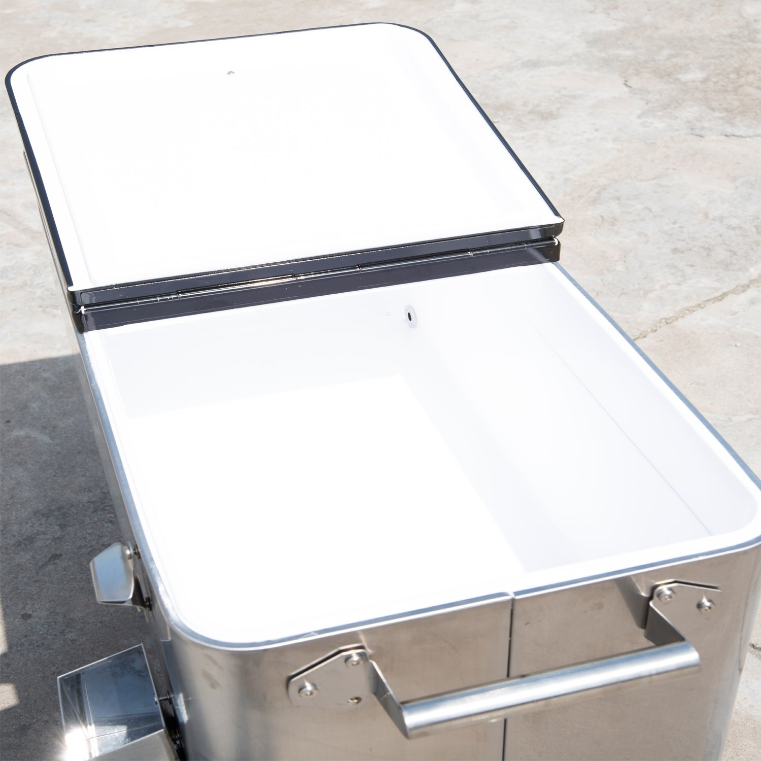 Storage Outsunny 80 Qt Rolling Ice