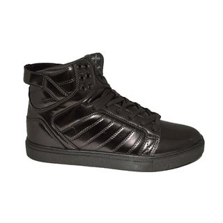 Mecca Men's Mettalic High Top Fashion Sneakers-ME-7098