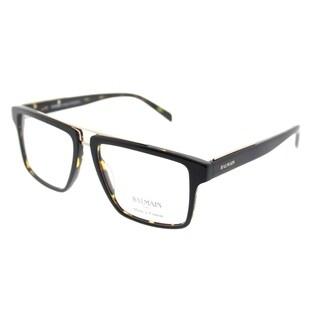 Balmain Rectangle BL 3058 C02 Unisex Black Tortoise Frame Eyeglasses